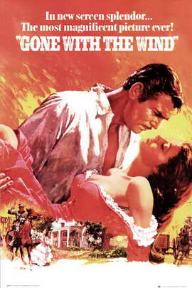 Gone with the Wind - 24 x 36 Movie Poster - Style A