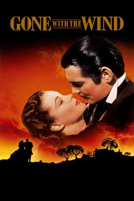 Gone with the Wind - 27 x 40 Movie Poster - Style T
