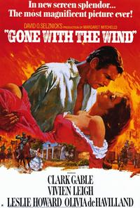 Gone with the Wind - 11 x 17 Movie Poster - Style I - Museum Wrapped Canvas