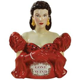 Gone with the Wind - Scarlett Red Dress Cookie Jar