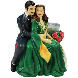 Gone with the Wind - Scarlett and Rhett Tealight Holder