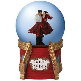 Gone with the Wind - Rhett and Scarlett Staircase Water Globe