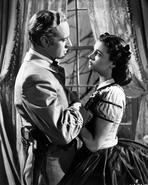 Gone with the Wind - Gone With The Wind Ashley Wilkes and a Lady Movie Scene