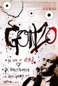 Gonzo: The Life and Work of Dr. Hunter S. Thompson - 11 x 17 Movie Poster - Style A