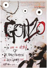 Gonzo: The Life and Work of Dr. Hunter S. Thompson - 43 x 62 Movie Poster - Bus Shelter Style A