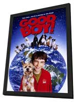 Good Boy! - 11 x 17 Movie Poster - Style A - in Deluxe Wood Frame
