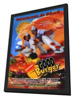 Good Burger - 27 x 40 Movie Poster - Style A - in Deluxe Wood Frame