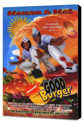 Good Burger - 11 x 17 Movie Poster - Style A - Museum Wrapped Canvas