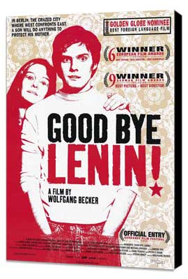 Good bye, Lenin! - 11 x 17 Movie Poster - Style A - Museum Wrapped Canvas