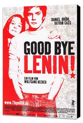 Good bye, Lenin! - 27 x 40 Movie Poster - German Style A - Museum Wrapped Canvas