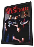Good Charlotte - 11 x 17 Music Poster - Style A - in Deluxe Wood Frame