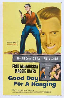 Good Day for a Hanging - 27 x 40 Movie Poster - Style A