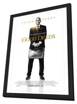 Good Deeds - 27 x 40 Movie Poster - Style A - in Deluxe Wood Frame