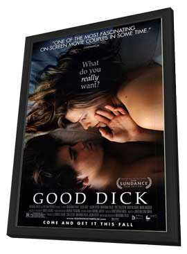 Good Dick - 27 x 40 Movie Poster - Style A - in Deluxe Wood Frame