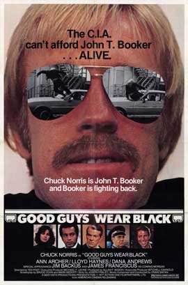 Good Guys Wear Black - 11 x 17 Movie Poster - Style A
