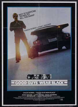 Good Guys Wear Black - 11 x 17 Movie Poster - Style B