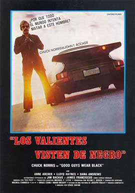 Good Guys Wear Black - 27 x 40 Movie Poster - Spanish Style A