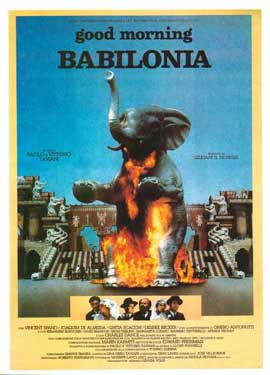 Good Morning, Babylon - 11 x 17 Movie Poster - Italian Style A