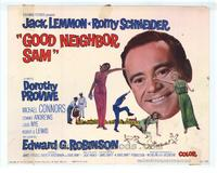 Good Neighbor Sam - 22 x 28 Movie Poster - Half Sheet Style A