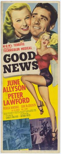 Good News - 43 x 62 Movie Poster - Bus Shelter Style A