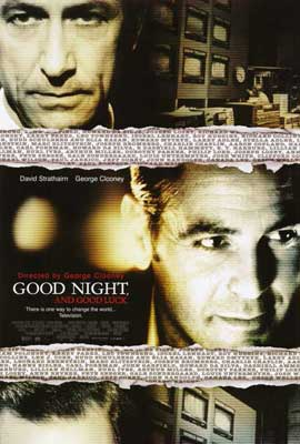 Good Night and Good Luck - 27 x 40 Movie Poster - Style B