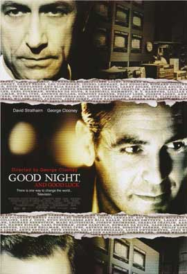 Good Night and Good Luck - 11 x 17 Movie Poster - Style B