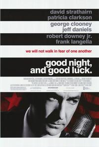 Good Night and Good Luck - 43 x 62 Movie Poster - Bus Shelter Style A