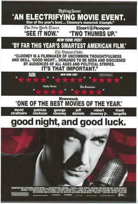 Good Night and Good Luck - 27 x 40 Movie Poster - Style C