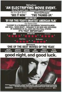 Good Night and Good Luck - 43 x 62 Movie Poster - Bus Shelter Style B