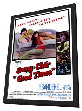 Good Times - 11 x 17 Movie Poster - Style A - in Deluxe Wood Frame