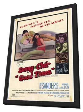 Good Times - 27 x 40 Movie Poster - Style A - in Deluxe Wood Frame
