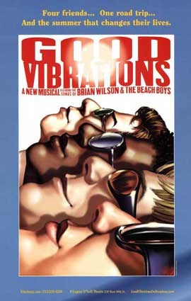 Good Vibrations (Broadway) - 27 x 40 Poster - Style A
