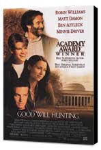 Good Will Hunting - 27 x 40 Movie Poster - Style B - Museum Wrapped Canvas