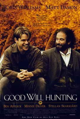 Good Will Hunting - 27 x 40 Movie Poster - Style A