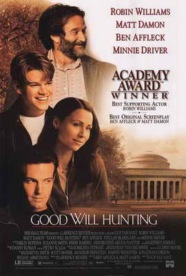 Good Will Hunting - 27 x 40 Movie Poster - Style B