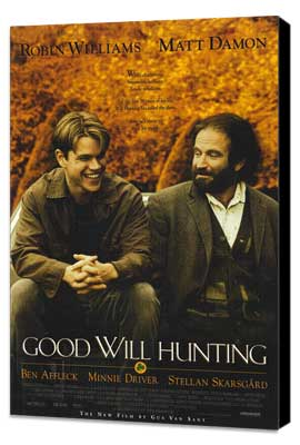 Good Will Hunting - 27 x 40 Movie Poster - Style A - Museum Wrapped Canvas