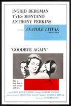 Goodbye Again - 27 x 40 Movie Poster - Style C
