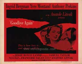 Goodbye Again - 11 x 14 Movie Poster - Style A