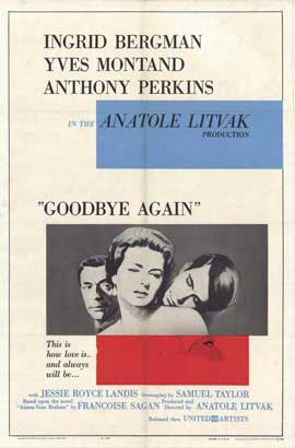 Goodbye Again - 11 x 17 Movie Poster - Style A