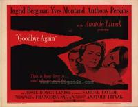 Goodbye Again - 22 x 28 Movie Poster - Half Sheet Style A