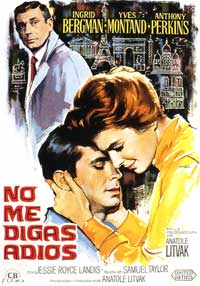 Goodbye Again - 11 x 17 Movie Poster - Spanish Style A