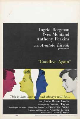 Goodbye Again - 27 x 40 Movie Poster - Style B