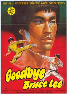 Goodbye Bruce Lee: His Last Game of Death - 11 x 17 Movie Poster - German Style A