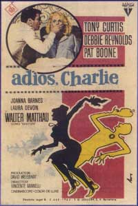 Goodbye Charlie - 11 x 17 Movie Poster - Spanish Style A