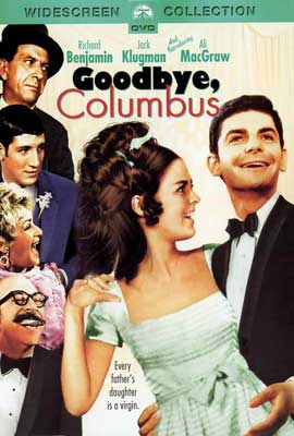 Goodbye Columbus - 27 x 40 Movie Poster - Style D