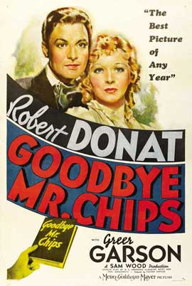 Goodbye Mr. Chips - 11 x 17 Movie Poster - Style B