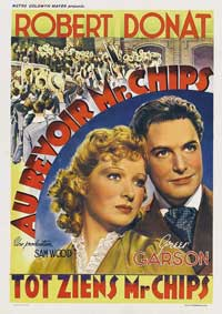 Goodbye Mr. Chips - 11 x 17 Movie Poster - Belgian Style A