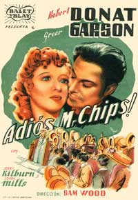 Goodbye Mr. Chips - 11 x 17 Movie Poster - Spanish Style A