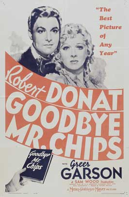 Goodbye Mr. Chips - 11 x 17 Movie Poster - Style E