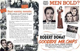 Goodbye Mr. Chips - 11 x 17 Movie Poster - Style D